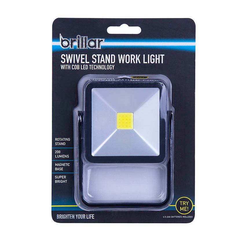 Brillar - Swivel Stand Work Light With COB LED Technology
