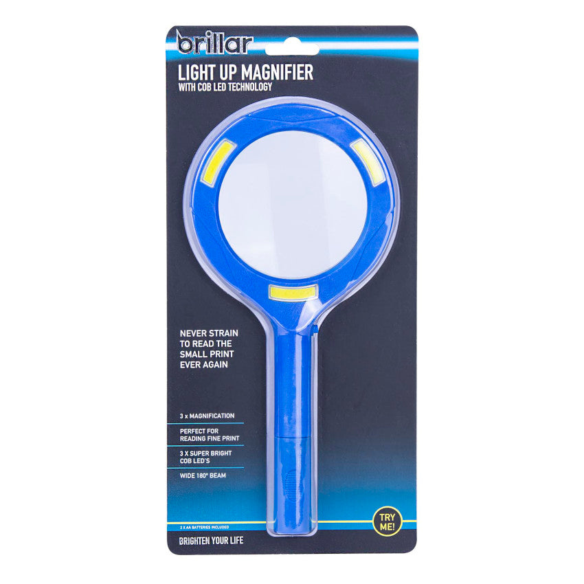 Brillar - Light Up Magnifier With COB LED Technology