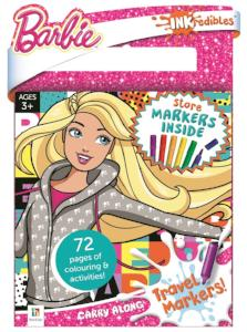 Barbie Carry Along Travel Markers