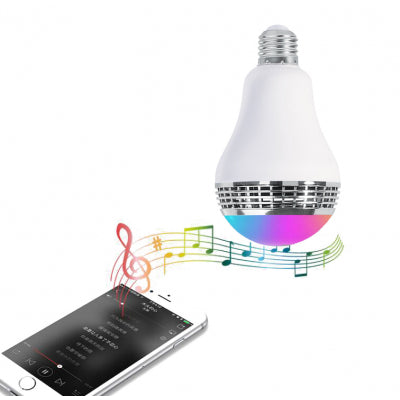 2 x Beat Bulb Smart Bluetooth LED Bulb & Speaker