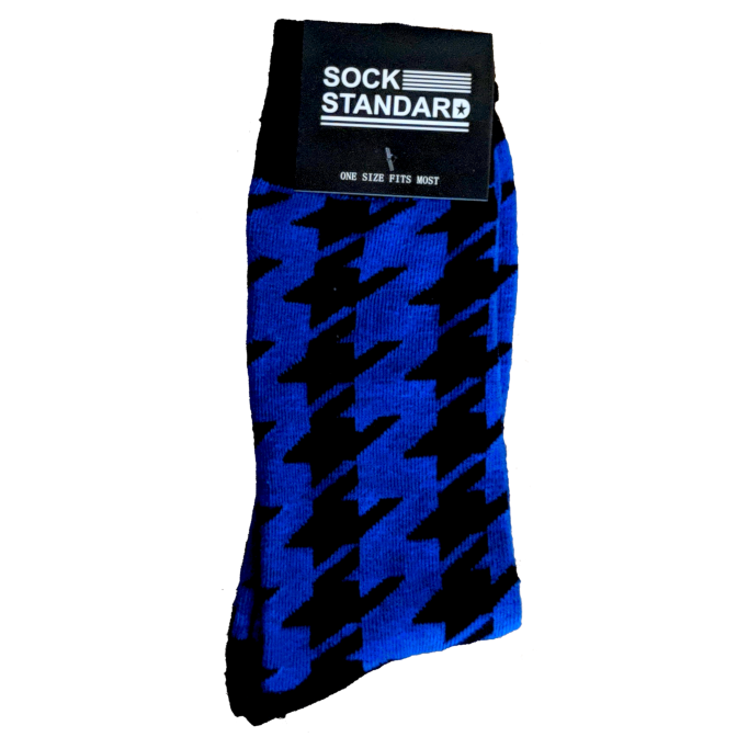 Sock Standard - Blue & Black