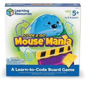 Code & Go Mouse Mania Board Game by Learning Resources