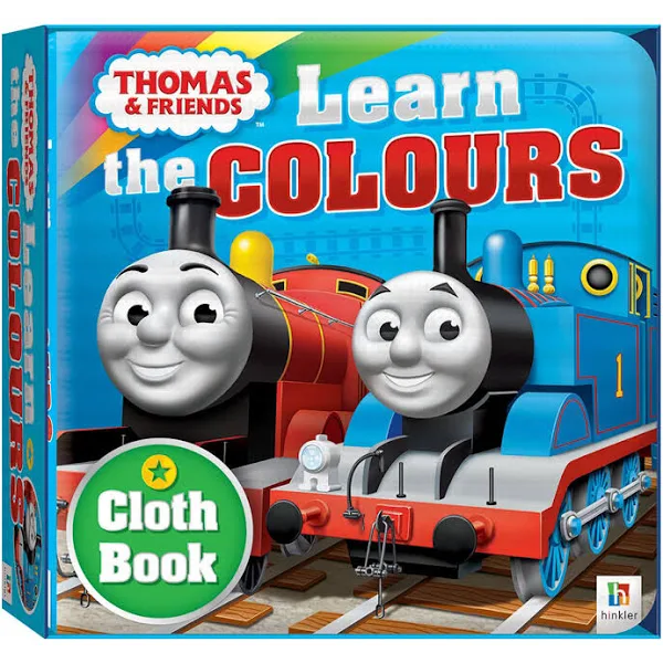 Thomas & Friends: Learn the Colours (Cloth Book)