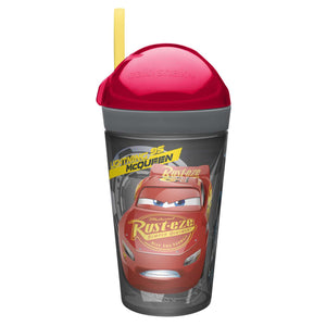 ZAK! Snak Tumbler 2 In 1 Snack Container And Drink Bottle
