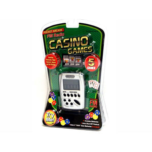 Handheld Casino Games With FM Radio Electronic 5 Game Westminster