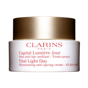 Clarins Vital Light Day Illuminating Anti-Ageing Cream (All Skin Types) - 50ml