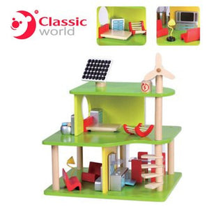 Classic World Eco House Building Block Set