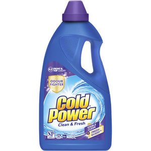 Cold Power Clean & Fresh Front & Top Loader Liquid 1.8
