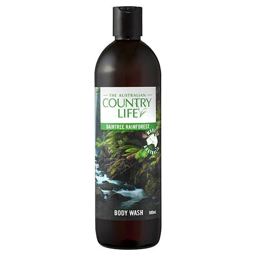 The Australian Country Life Daintree Rainforest Body Wash 500mL
