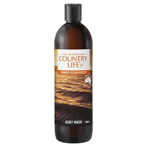 The Australian Country Life Summer Ocean Breeze Body Wash 500mL