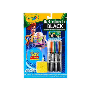 Crayola Toy Story ReColoritz Black Activity Book