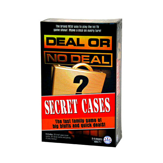 Deal Or No Deal - Secret Cases Card Game