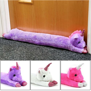 Unicorn Plush Draught Stopper