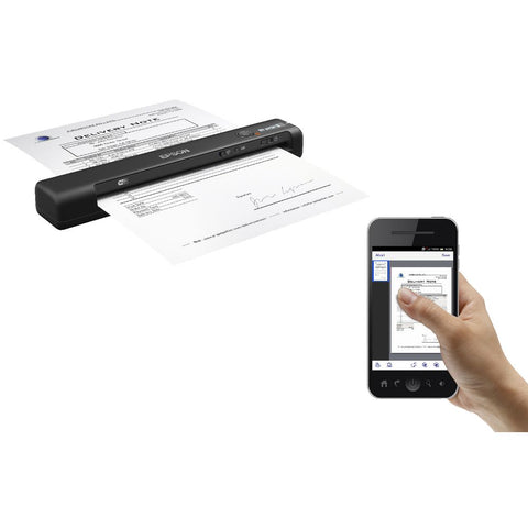 Epson Workforce ES-60W Wireless Portable Scanner