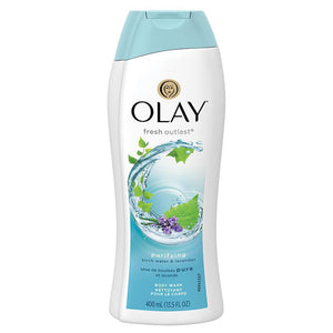 Olay Fresh Outlast Purifying Birch Water & Lavender Body Wash 400ml