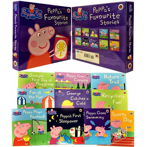 Peppa Pig: Peppa's Favourite Stories (10 Book Collection)