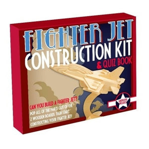 Wooden Construction - Jet Fighter