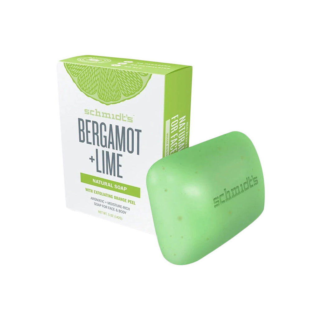Schmidt's Bergamot + Lime Natural Soap 142g