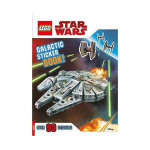 Lego Star Wars: Galactic Sticker Book