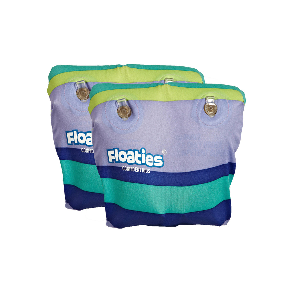 Floaties Kids' Armbands - Blue/Green (3-24 Months)