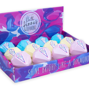Bath Fizzos Bath Bomb - Diamond (3 pack)
