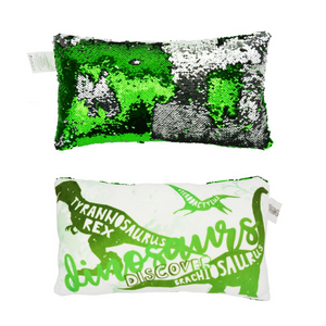 Colour Changing Pillow for Kids - Dinosaur