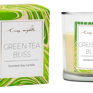 Cosy Nights Green Tea Bliss Candle