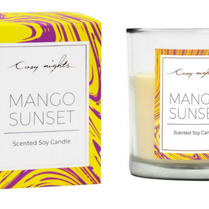 Cosy Nights Mango Sunset