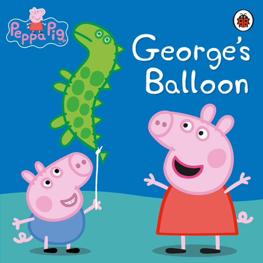 Peppa Pig: George's Balloon (Hard Cover Book)