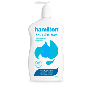 2 x Hamilton Skin Therapy Gentle Wash 500mL
