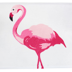 Lazy Dayz Microfibre Bath Mat - Flamingo