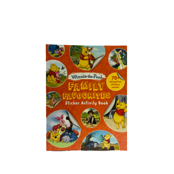 Winnie The Pooh Family Favourites: Sticker Activity Book 70 + Stickers Inside!