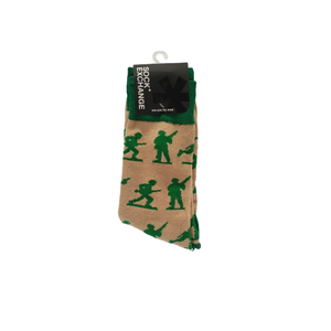 Sock Exchange - Army Men (Beige)