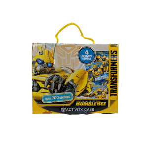 Transformers Bumble Bee Activity Book Case