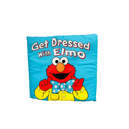Get Dressed With Elmo - Mini Cloth Book