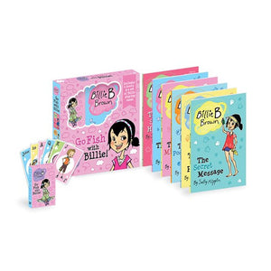 Billie B Brown  Go Fish With Billie 6 Book Set With Playing Cards