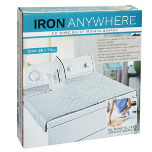 Iron Anywhere - No more need for ironing boards!