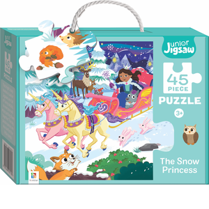 Junior Jigsaw: 45-Piece Assorted Children's Puzzles