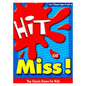 Hit Or Miss The Classic Game For Kids