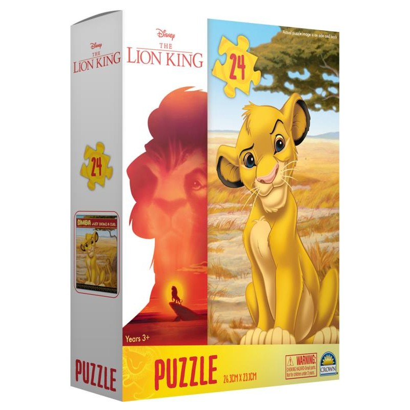The Lion King 24 Piece Boxed Puzzle (Simba or Timon & Pumba)