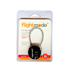Flightmode Long Neck Combination Padlock