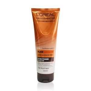 L'Oreal Hair Expertise Pure Smooth 100% Sulphate Free Conditioner For Frizzy Hair