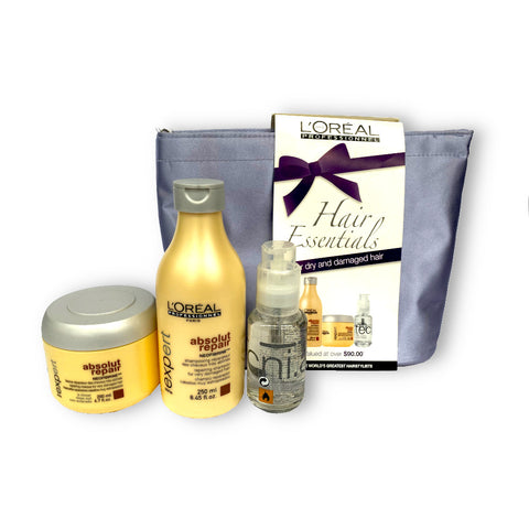 L'Oreal Professionnel Hair Essentials Gift Pack (For Dry & Damaged Hair)
