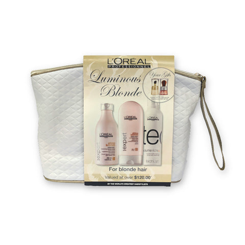 L'Oreal Professionnel Luminous Blonde Gift Pack (For Blonde Hair)