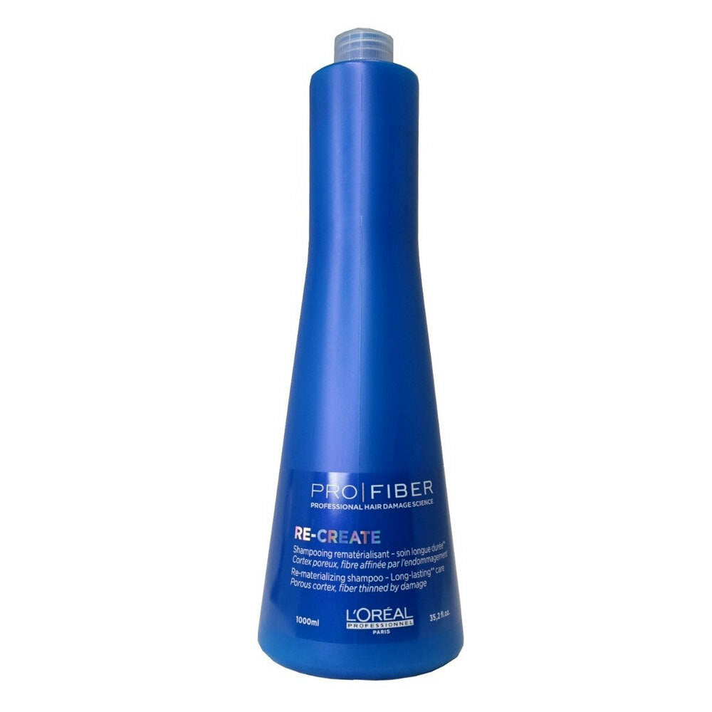L'Oreal Pro Fiber Shampoo Recreate Hair Thinned By Damage 1000ml