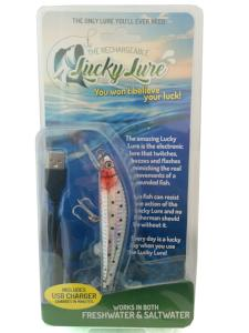Lucky Lure - Rechargeable Electronic  Twitching Fish Lure