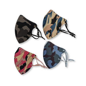 Face Mask 3 Layer - Camo Style