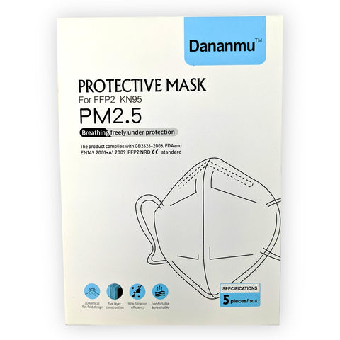 KN95 Protective Face Mask (5pk)