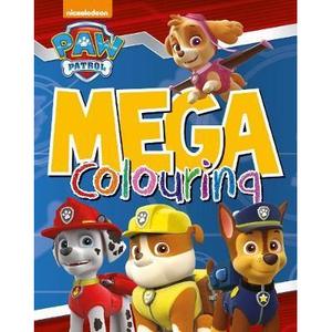 Nickelodeon Paw Patrol: Mega Colouring