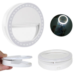"Selfie Ring Light ""Halo Effect"""